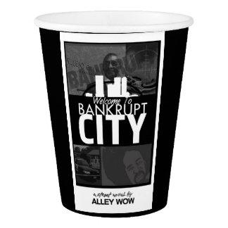 Gobelets En Papier accueil pour ruiner des tasses de café de ville
