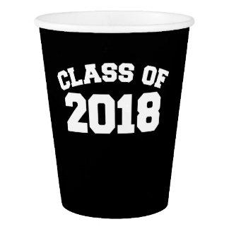 Gobelets En Papier Classe de 2018