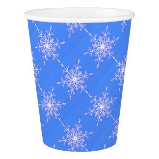 Gobelets En Papier Flocon de neige 3