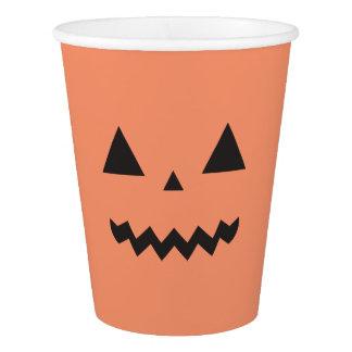 Gobelets En Papier Tasse de papier de Jack O'Lantern