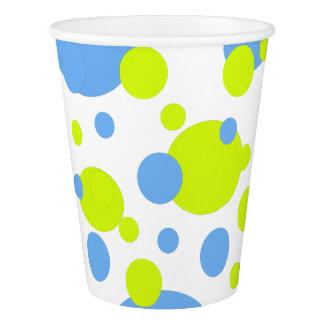 Gobelets En Papier Tasse de papier de partie de bulles heureuses