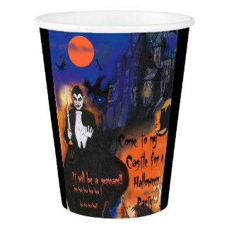 Gobelets En Papier Tasse de papier de partie de Dracula Halloween