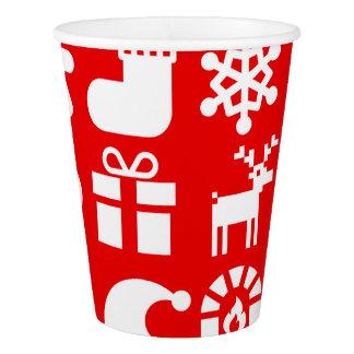 Gobelets En Papier ''' Tis la tasse de papier de Noël de saison