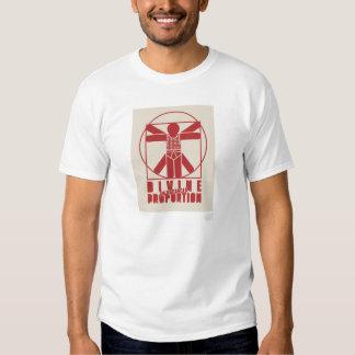 Goddelijke verhouding t shirts