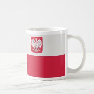 Godłem de Flaga Polski z - drapeau de la Pologne Mug