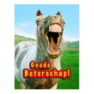 Goede Beterschap! Briefkaart