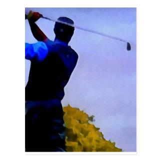 Golf Carte Postale