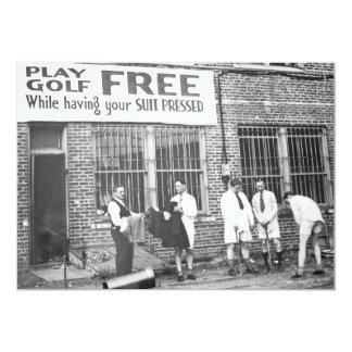 Golf de jeu libre (tout en faisant presser votre carton d'invitation  12,7 cm x 17,78 cm