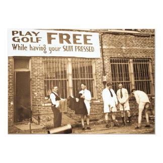Golf de jeu libre (tout en faisant presser votre invitations personnalisées