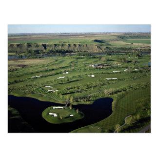 Golf de peuplier et club national, Alberta, Canada Carte Postale