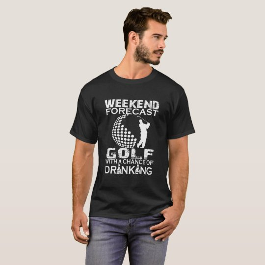 GOLF DE PRÉVISION DE WEEK-END T-SHIRT