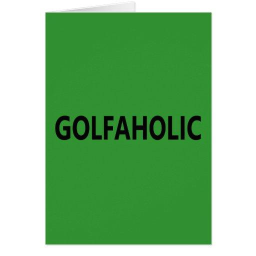 Golfaholic Carte De Vœux