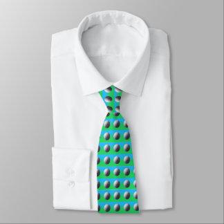 Golfeur à l'intérieur de la cravate d'affaires