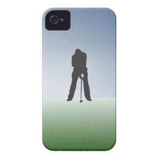 Golfeur de mâle de tir de pièce en t coque iPhone 4