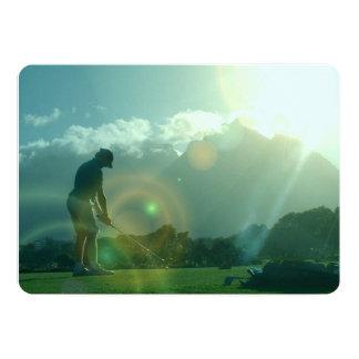 Golfeur Faire-parts