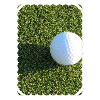Golfeur Cartons D'invitation