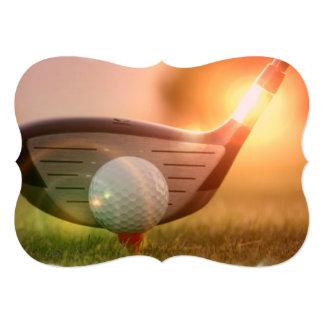 Golfeur Faire-part