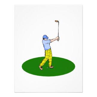 Golfeur Invitation Personnalisable