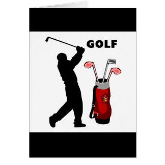 Golfeurs Cartes