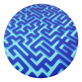 Gomme Bleu de labyrinthe