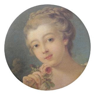 Gomme Bouquet de jeune femme des roses par Francois
