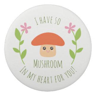 Gomme J'ai ainsi champignon à mon coeur pour vous humour