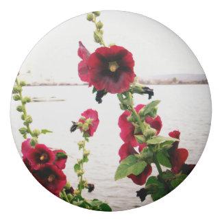 Gomme Jolie rose trémière florale