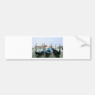 Gondoles de Venise Autocollant De Voiture