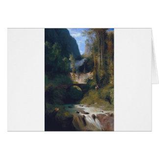 Gorgez près d'Amalfi - 1831 par Karl Blechen Carte