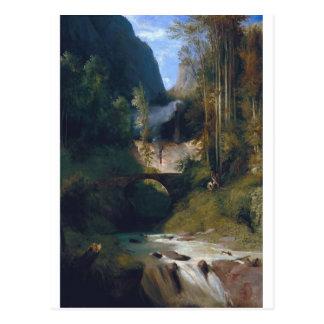 Gorgez près d'Amalfi - 1831 par Karl Blechen Carte Postale