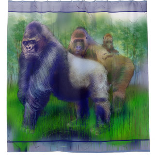 Gorilla's in Ons Midden Gordijn 0