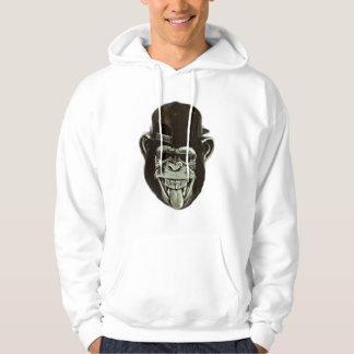 Gorille de hippie veste à capuche