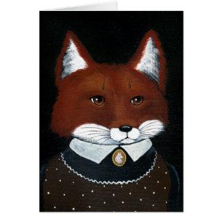 Gothiques américains femelles de Fox charrient la Carte