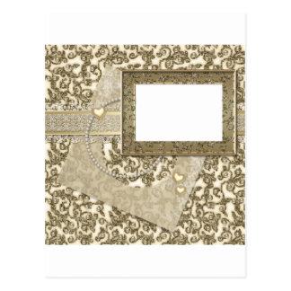 Gouden Huwelijk of Jubileum met het Lijst van de Briefkaart