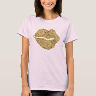 Gouden Lippen XOXO T Shirt