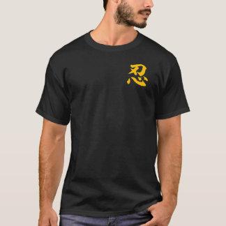 """Gouden T-shirt """"NIN"""""""