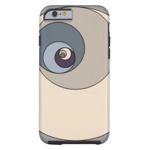 Gouden Verhouding Cirkels Tough iPhone 6 Hoesje