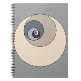 Gouden Verhouding Cirkels Ringband Notitie Boek