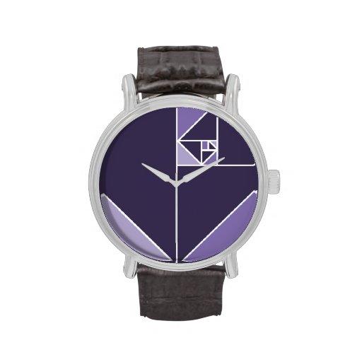 Gouden Verhouding Driehoeken Horloges