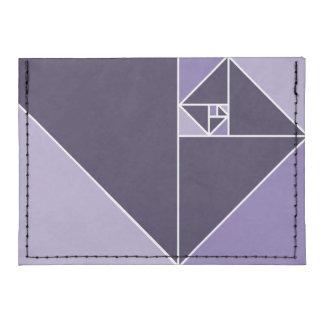 Gouden Verhouding Driehoeken Tyvek® Portemonnee Voor Kredietkaarten