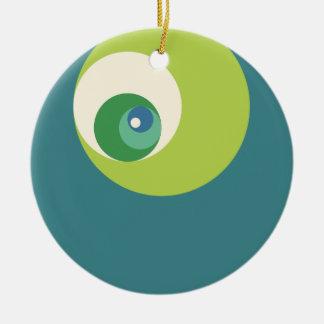 Gouden Verhouding (Groene) Cirkels Kerstboom Ornamenten