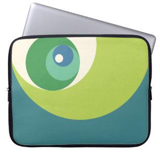 Gouden Verhouding (Groene) Cirkels Laptop Hoesje