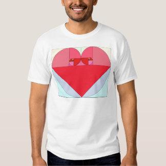Gouden Verhouding Hart Shirt