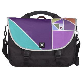 Gouden Verhouding (Heldere kleuren) Tas Voor Laptop