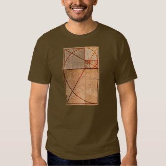 Gouden Verhouding Hout T Shirt