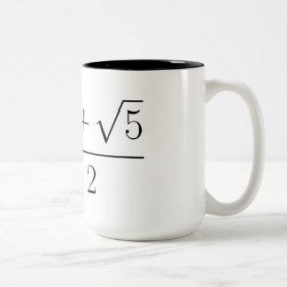 Gouden verhouding koffie mokken