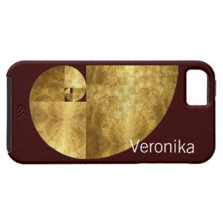 Gouden Verhouding, Personaliseerbare Spiraal iPhone 5 Cases