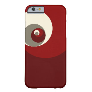 Gouden Verhouding (Rode) Cirkels Barely There iPhone 6 Hoesje
