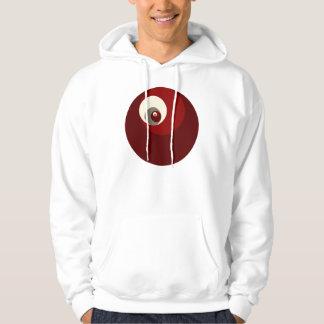 Gouden Verhouding (Rode) Cirkels Hoodie