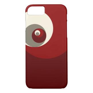 Gouden Verhouding (Rode) Cirkels iPhone 7 Hoesje